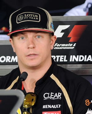 Indian F1: Raikkonen dismisses late surge