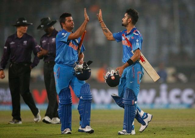 India vs Pakistan ICC World T20 highlights: Virat Kohli, Suresh Raina take India to 7-wicket win