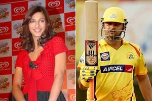 actress Shruti Haasan is heard to be dating Indian cricketer Suresh ...