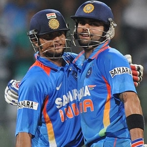 Kohli, Raina script easy win for India