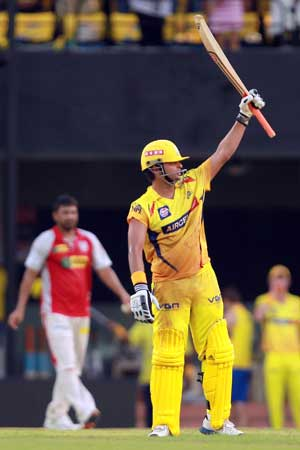 IPL 2013: Raina makes it seven in a row for Chennai