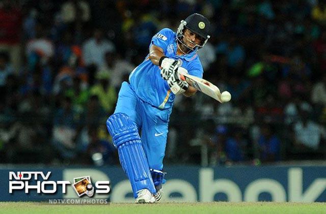 Live cricket score: Suresh Raina