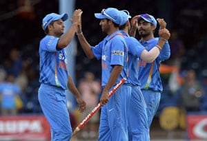 India vs Sri Lanka, tri-series highlights: India's 81-run win, as it happened