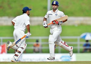 India take charge on sunny day