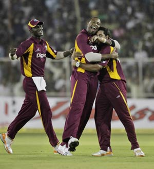 3rd ODI: Statistical highlights from West Indies' win