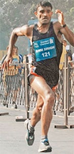 Marathoner snubs luxury to realise Olympic dream