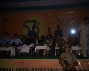 Athletes handed medals in darkness as power failure trips Open nationals