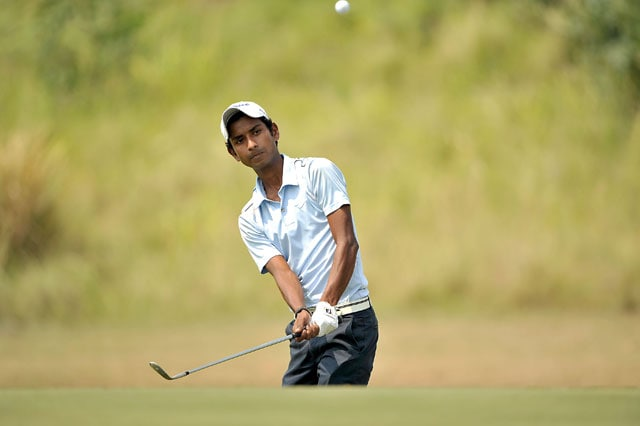 Rashid Khan cards career-best score to take lead after first round at SAIL-SBI Open