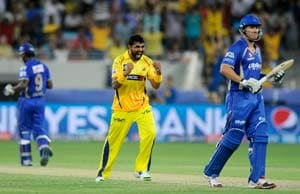 Indian Premier League: Ravindra Jadeja's all-round show helps Chennai beat Rajasthan by 7 runs