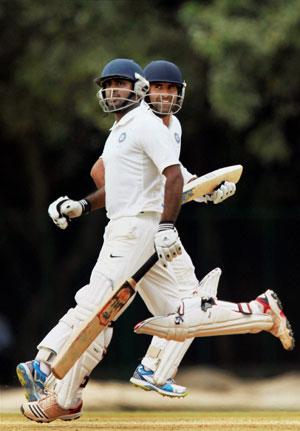 Rayudu, Rassol shine as warm-up game against Australia ends in draw