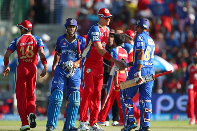 IPL 7, RR vs RCB, Highlights: Pravin Tambe (4/20) spins Rajasthan Royals to big win vs Royal Challengers Bangalore