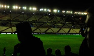 Floodlight 'sabotage' postpones Real Madrid match