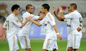Real Madrid destroy Tianjin Teda