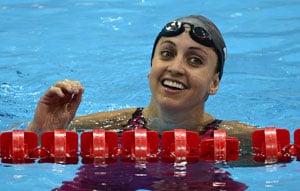London 2012 Swimming: Soni wins 200m breaststroke gold in world record