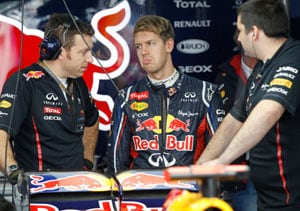 Title is Sebastian Vettel's to lose after seizing lead