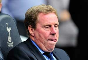 Harry Redknapp sacked as Tottenham manager
