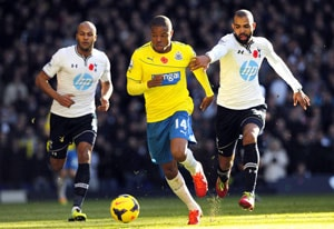 Loic Remy earns Newcastle United 1-0 win against Tottenham Hotspur