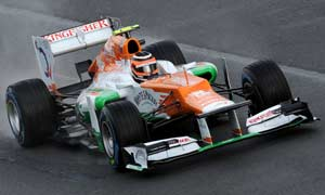 Force India fails to gather points from Chinese Grand Prix