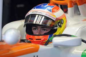 Di Resta to start 14th, Nico 16th in Malaysian GP