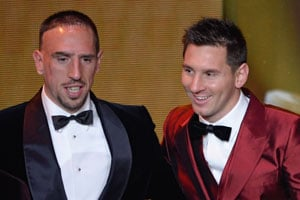 What more could I have done: Franck Ribery after missing out on the Ballon d'Or