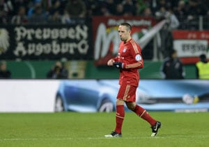 Bayern Munich's Franck Ribery slapped with two-match league cup ban