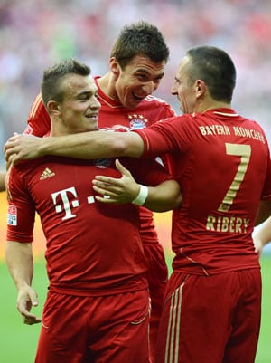 Franck Ribery's brace gets Bayern Munich back to winning ways