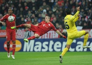 Champions League: Bayern beats Villarreal 3-1