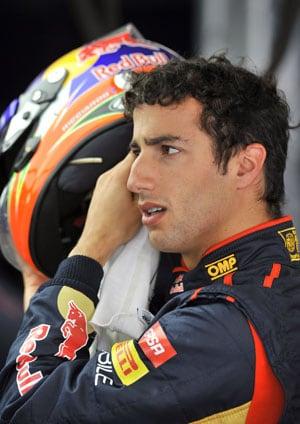 Korean GP: Daniel Ricciardo drops five places on grid