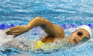 Olympics: Stephanie Rice upbeat after latest injury scare