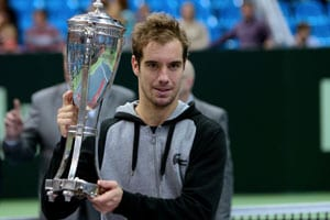 Richard Gasquet beats qualifier Mikhail Kukushkin to win Kremlin Cup