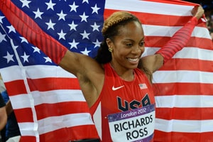 London 2012: Richards-Ross ends American 400m gold drought