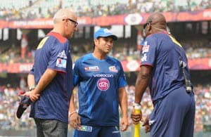 When Sachin Tendulkar met Sir Viv Richards at Kotla