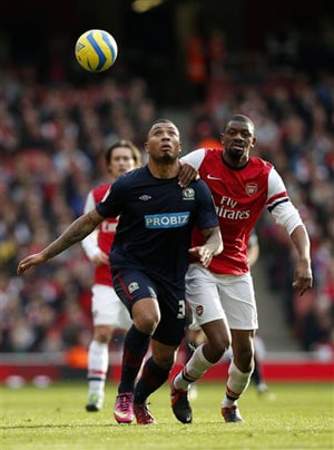 Arsenal's Diaby out for nine months