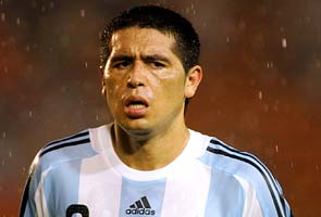 Juan Roman Riquelme left out of Boca Juniors squad