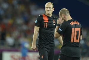 Euro 2012: Arjen Robben points to Dutch feuding after Euro exit