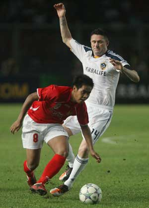 Keane gives Galaxy 1-0 win over Indonesia All Stars