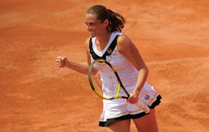 Roberta Vinci wins 1st match at Palermo Open