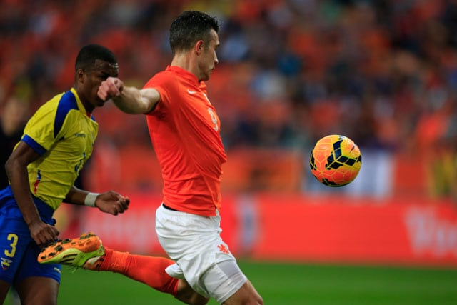 Robin Van Persie Strike Saves Netherlands vs Ecuador in FIFA World Cup Warm-up