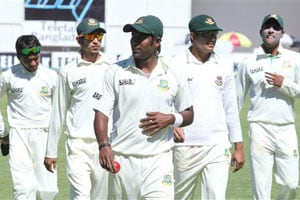2nd Test: Bangladesh build lead against Zimbabwe