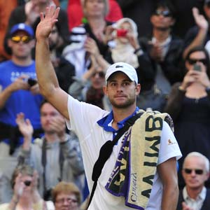 Alpha male' Andy Roddick keeps fans guessing