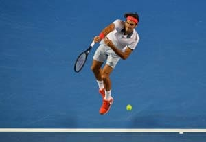 Australian Open: Sublime Roger Federer beats Blaz Kavcic to reach third round