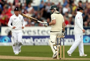 The Ashes: Chris Rogers relieved after maiden Test ton