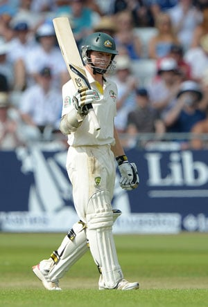 The Ashes: Chris Rogers' maiden Test ton takes Australia to 222/5 on Day 2