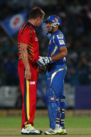 CLT20: Rohit Sharma reprimanded for