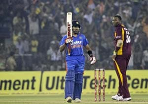 Rohit Sharma 50 in vain as West Indies A win by 3 wickets