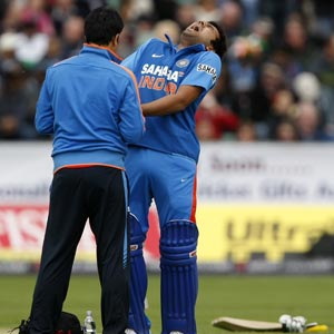 Rohit Sharma is satisfied with his recovery