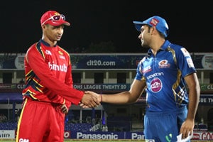CLT20 Live Cricket Score: Rohit Sharma and Alviro Peterson