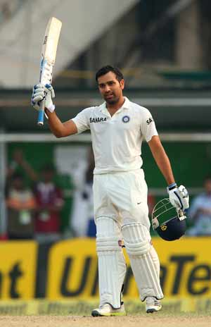 Ind vs WI stats: Rohit Sharma second Indian after Sourav Ganguly to hit tons in first two innings