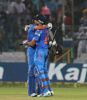 2nd ODI: As it happened - Rohit, Kohli's centuries power India to record 9-wicket victory