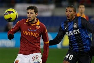 AS Roma edge Inter Milan, result waits three months